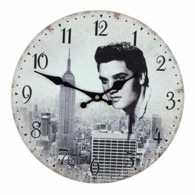 Elvis-Presley-Vintage-Style-Wall-Clock-30cm