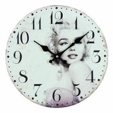 Marilyn-Monroe-Vintage-Style-Wall-Clock