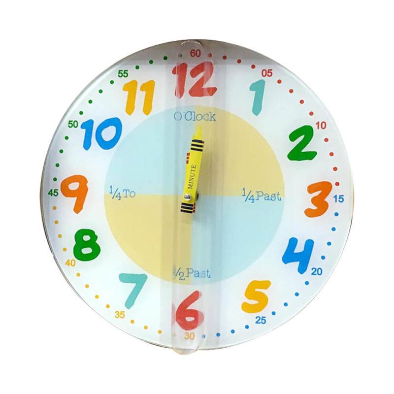 color-wall-clock