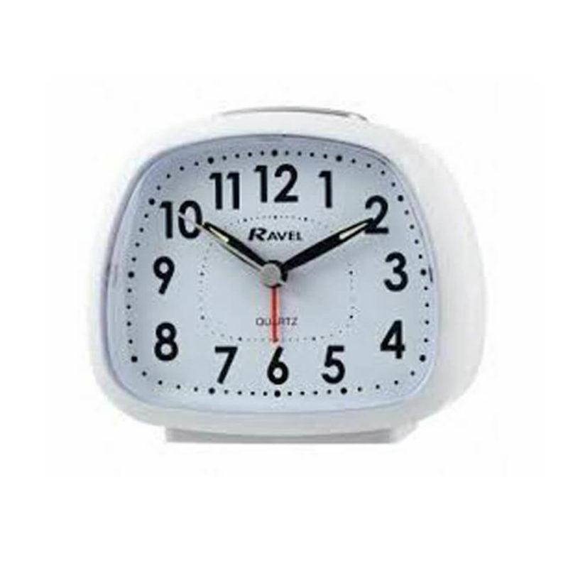 white-digital-clock