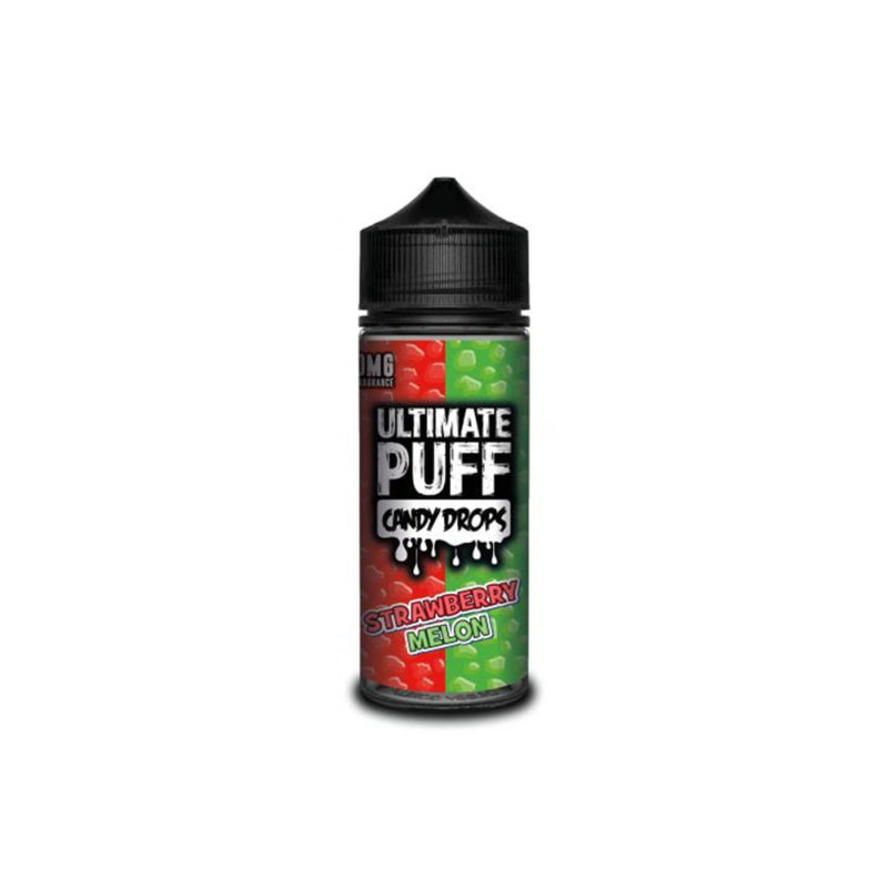 Ultimate Puff Candy Drops Strawberry Melon