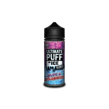 Ultimate Puff On Ice Limited Edition – Grape & Strawberry.