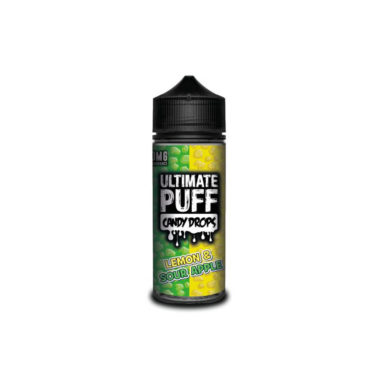 Ultimate Puff Candy Drops Lemon & Sour Apple