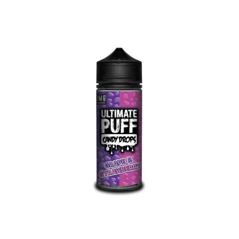 Ultimate Puff Candy Drops Grape & Strawberry