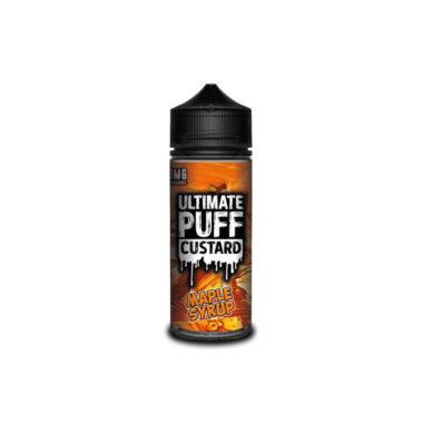 Ultimate Puff Custard – Maple Syrup
