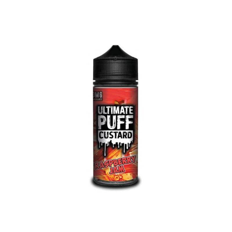 Ultimate Puff Custard – Raspberry Jam