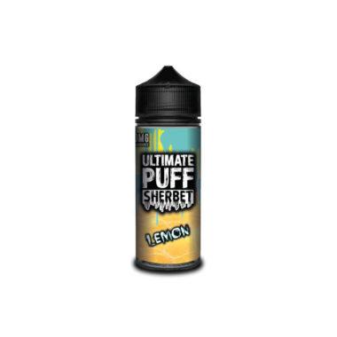 Ultimate Puff Sherbet – Lemon