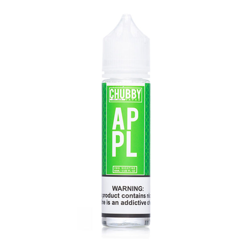 Apple 50ml Shortfill E-liquid by Chubby Vapes