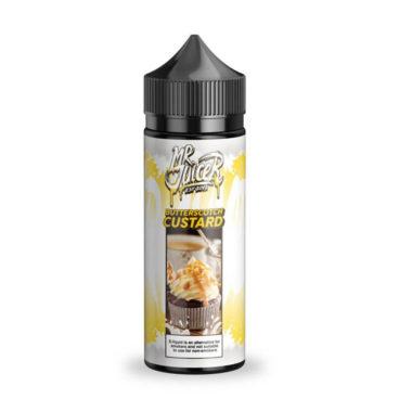 Butterscotch Custard Shortfill 100ml Eliquid by Mr. Juicer