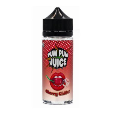 Cherry Chiller Menthol Shortfill 100ml Eliquid by Pum Pum
