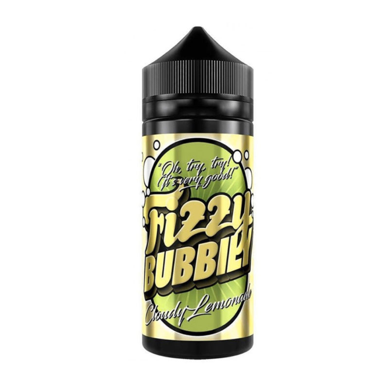 Cloudy Lemonade Shortfill 100ml Eliquid by Fizzy Bubbily