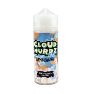 Peach Blue Razz Iced cloud Nurdz