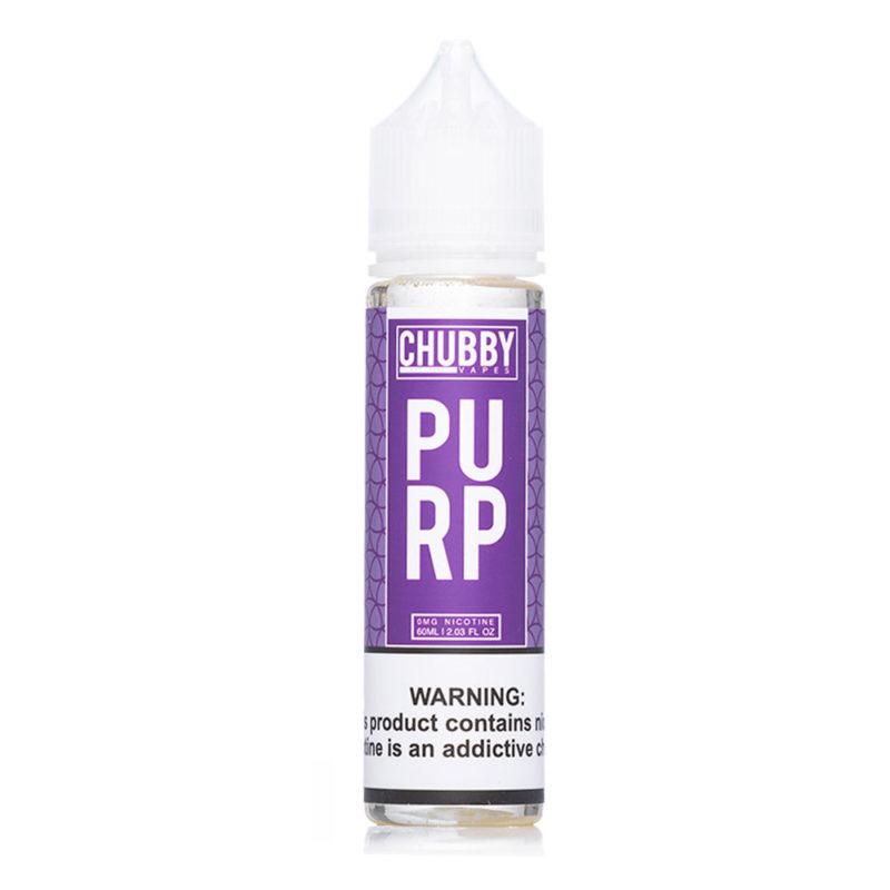 Purp 50ml Shortfill E-liquid by Chubby Vapes