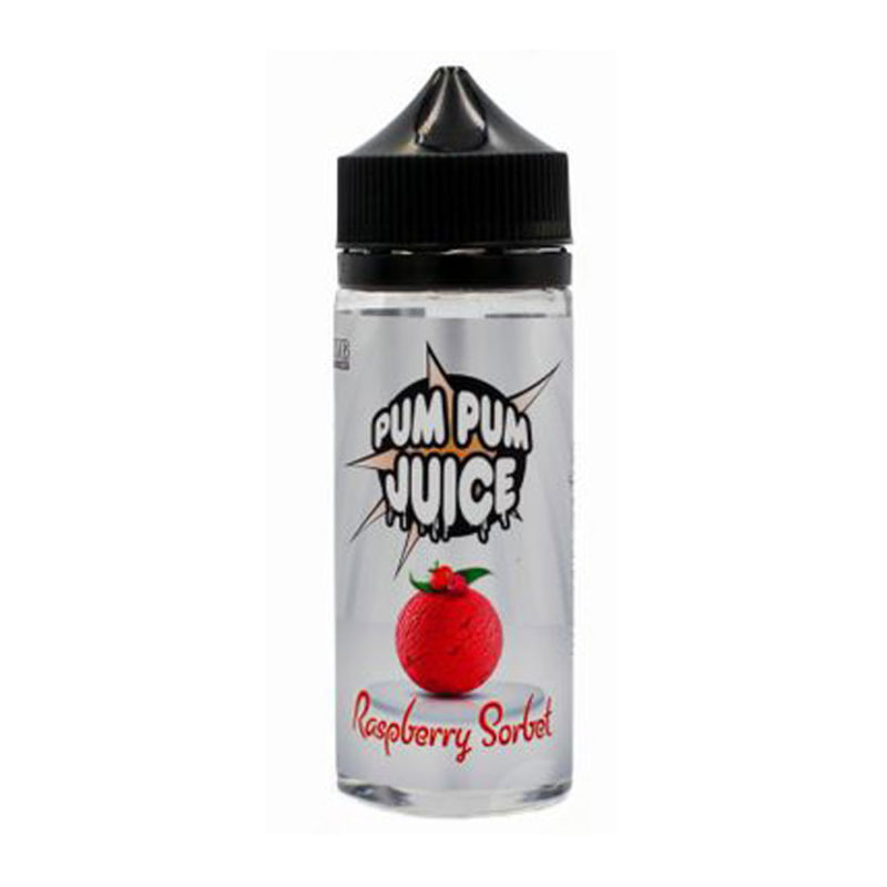 Raspberry Sorbet Shortfill 100ml Eliquid by Pum Pum