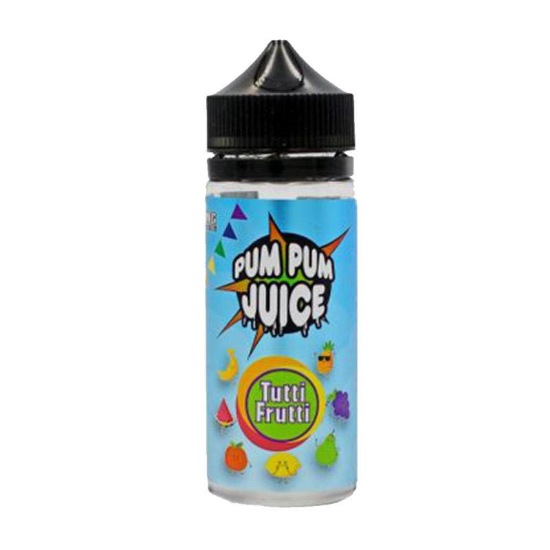 Tutti Fruits Shortfill 100ml Eliquid by Pum Pum