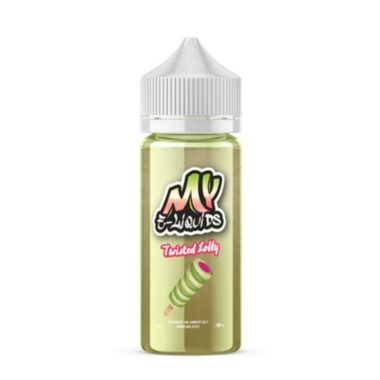 Twisted Lolly Shortfill 100ml Eliquid by My E-Liquids