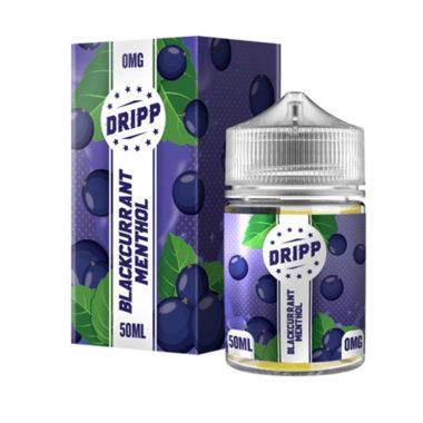 Blackcurrant Menthol 50ml E-liquid by Dripp