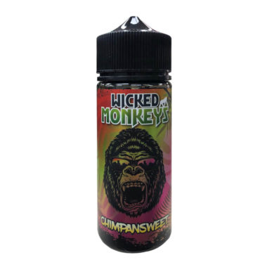 Chimpan Sweet Shortfill 100ml Eliquid by Wicked Monkeys