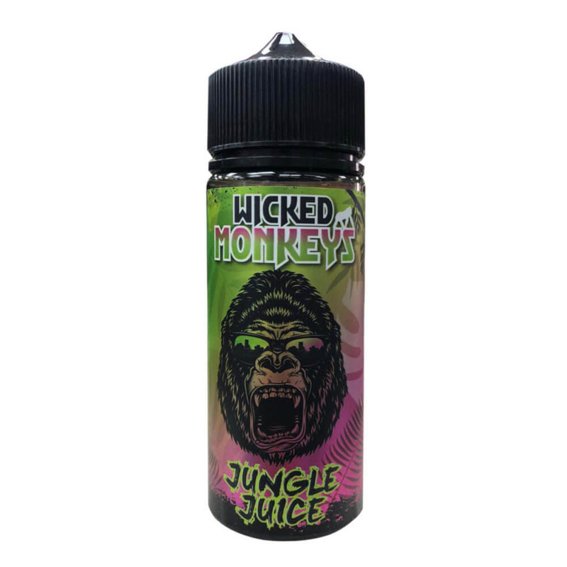 Jungle Juice Shortfill 100ml Eliquid by Wicked Monkeys