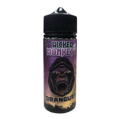 Orangurt Shortfill 100ml Eliquid by Wicked Monkeys