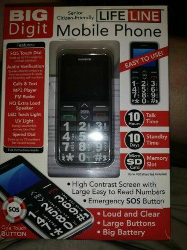 Mobile Phone Lifeline Phone