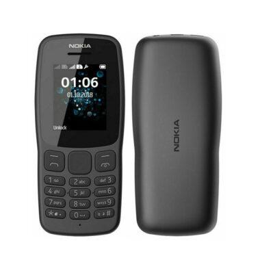 Nokia 106 Sim Free Basic Mobile Phone Dual Sim