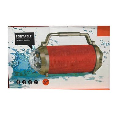 Wireless Portable outdoor speaker with water proof - Red