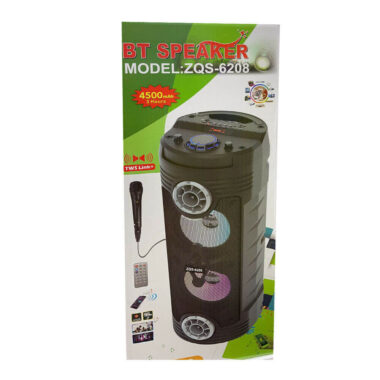 BT Wireless Portable Speaker 3 Hours battery (ZQS-6208)