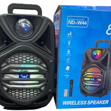 Wireless Portable Speaker with LED USB TF ND - W44